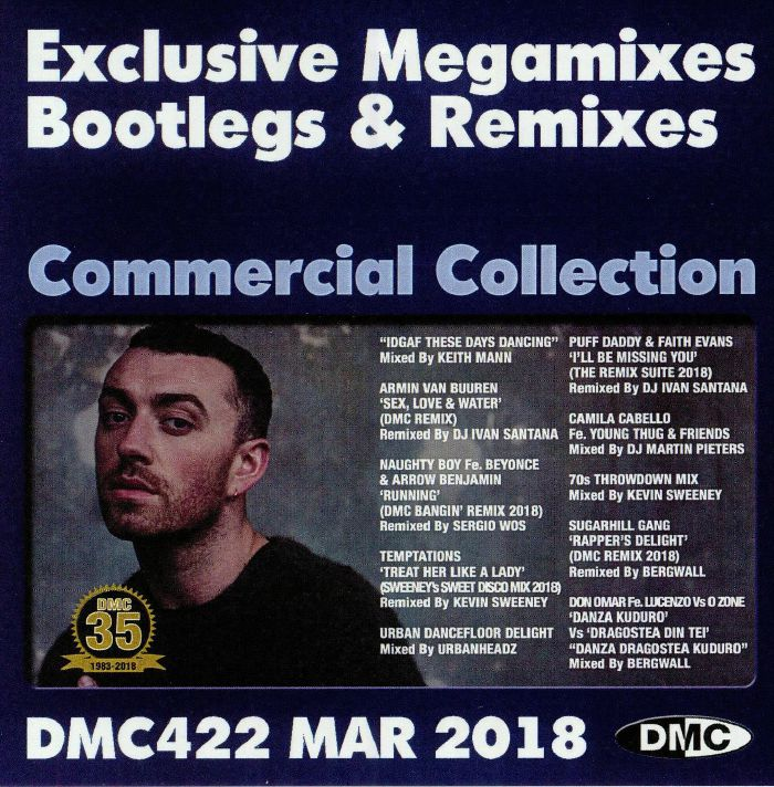 VARIOUS - DMC Commercial Collection March 2018: Exclusive Megamixes Bootlegs & Remixes (Strictly DJ Only)