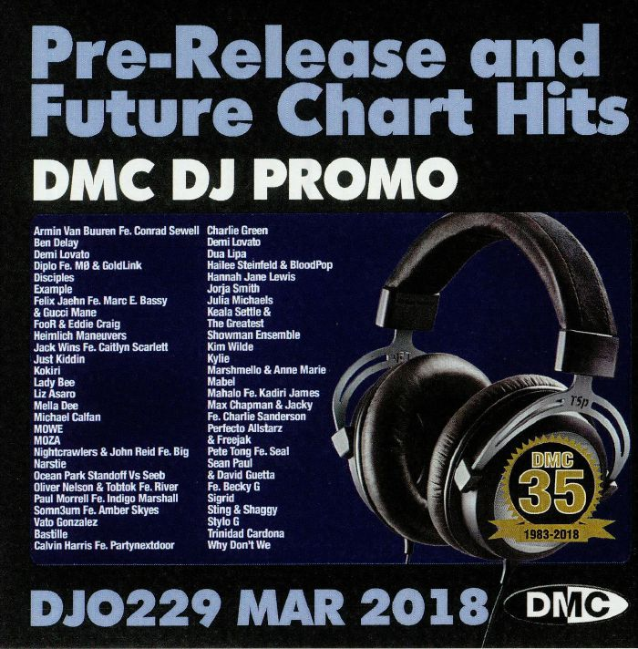 VARIOUS - DJ Promo March 2018: Pre Release & Future Chart Hits (Strictly DJ Only)