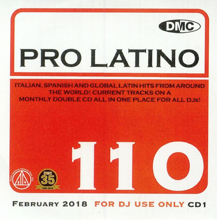 VARIOUS - DMC Pro Latino 110: February 2018 (Strictly DJ Only)