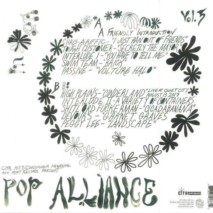 VARIOUS - CiTR Pop Alliance Compilation Vol 5