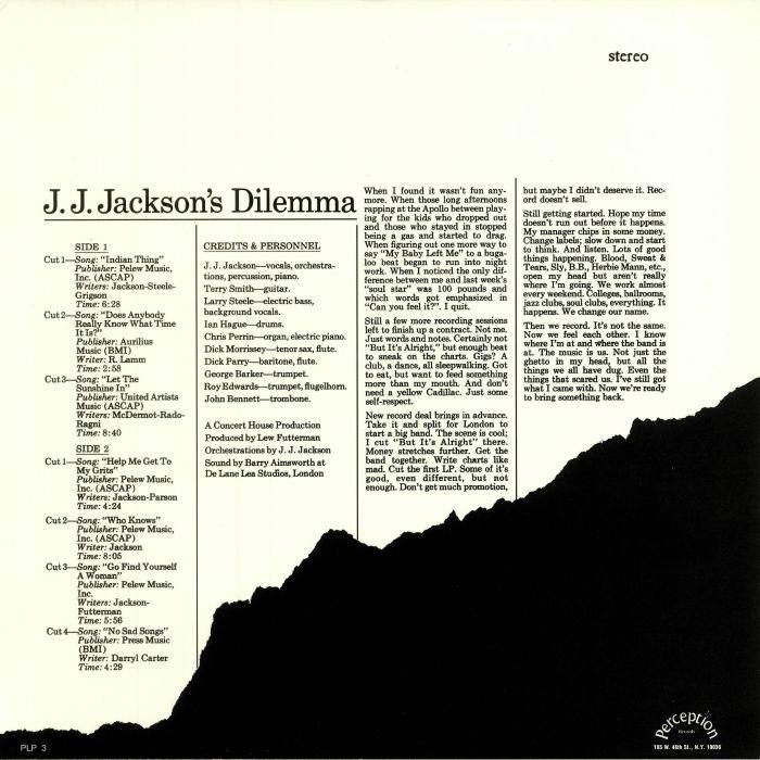 JJ JACKSON'S DILEMMA - JJ JACKSON'S DILEMMA