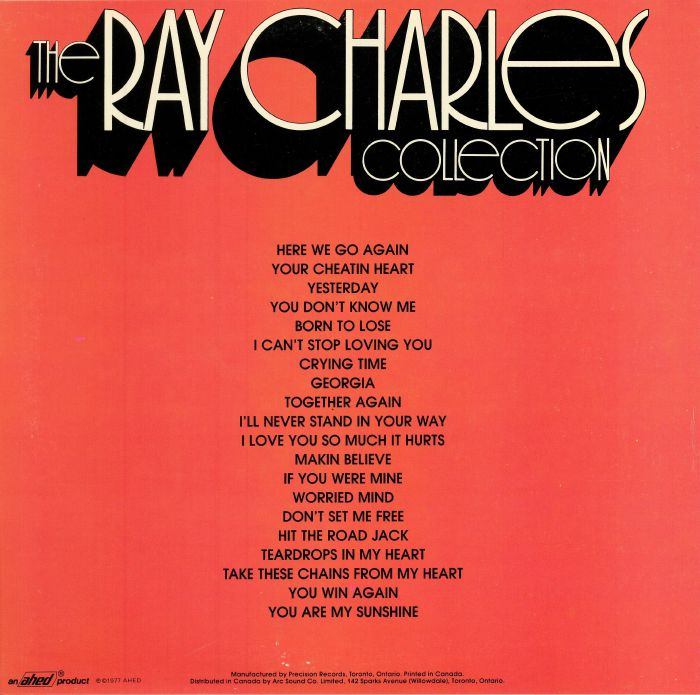 CHARLES, Ray - The Ray Charles Collection