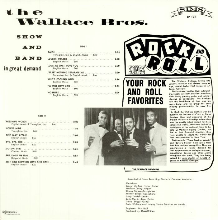 WALLACE BROTHERS, The - Soul Soul & More Soul