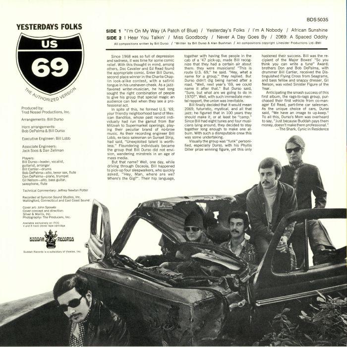 US 69 - Yesterdays Folks