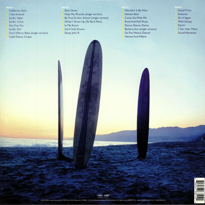BEACH BOYS, The - Sounds Of Summer: The Very Best Of The Beach Boys (reissue)