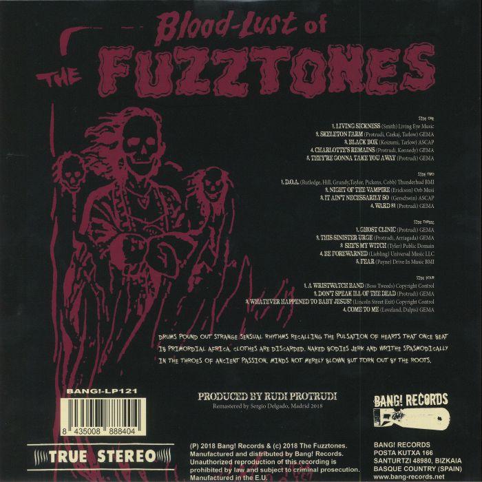 FUZZTONES, The - Dark Zone