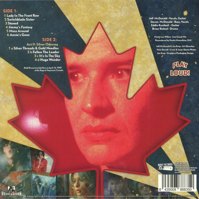 REDD KROSS - Oh Canada!: Hot Issue Vol 2: Show World Tour Live