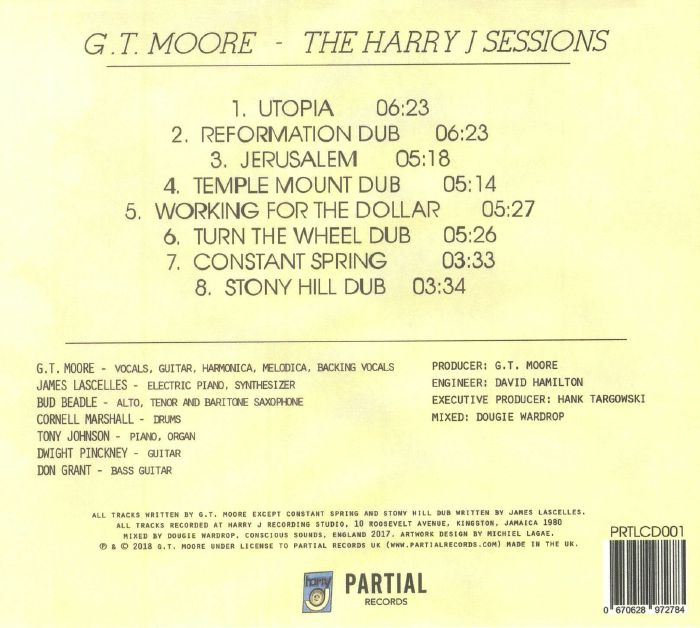 MOORE, GT - The Harry J Sessions