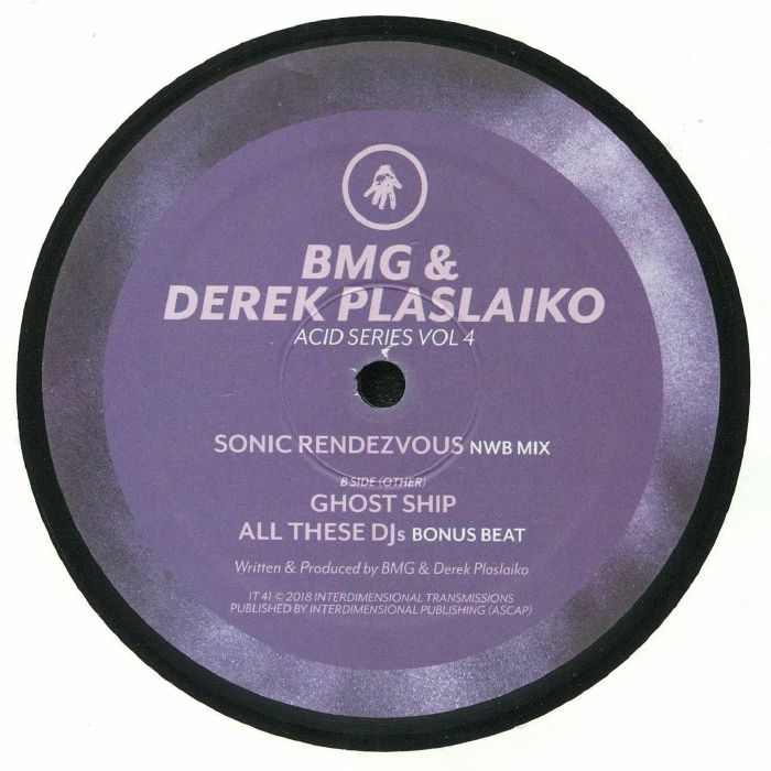 BMG/DEREK PLASLAIKO - Acid Series Vol 4