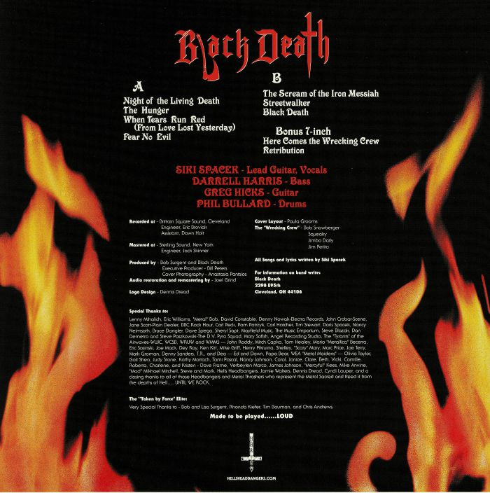 BLACK DEATH - Black Death (reissue)