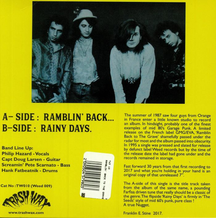 RAMBLERS, The - Ramblin' Back To The Grave