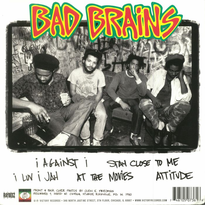 BAD BRAINS - Omega Sessions