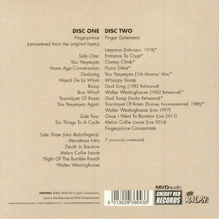 RESIDENTS, The - Fingerprince (remastered)