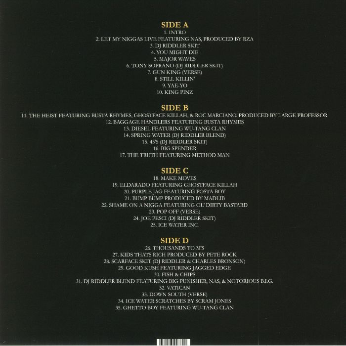 RAEKWON Vatican Mixtape Vol 1 vinyl at Juno Records