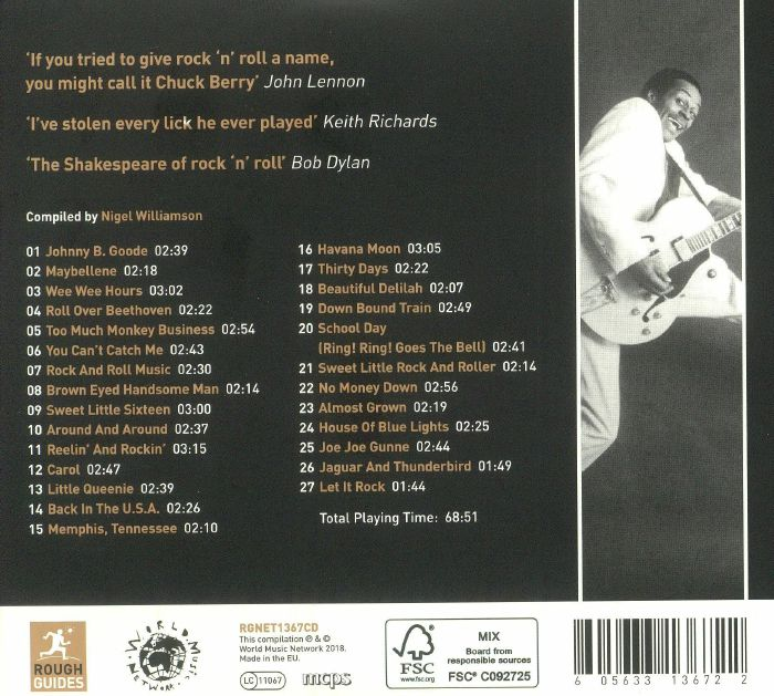 BERRY, Chuck - The Rough Guide To Chuck Berry