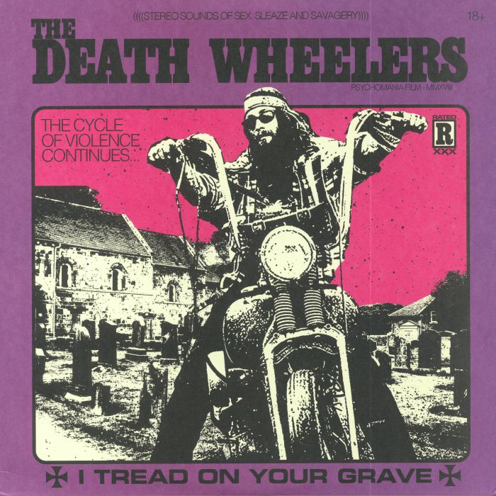 DEATH WHEELERS, The - I Tread On Your Grave