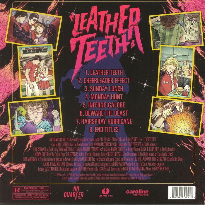 CARPENTER BRUT - Leather Teeth (Soundtrack)
