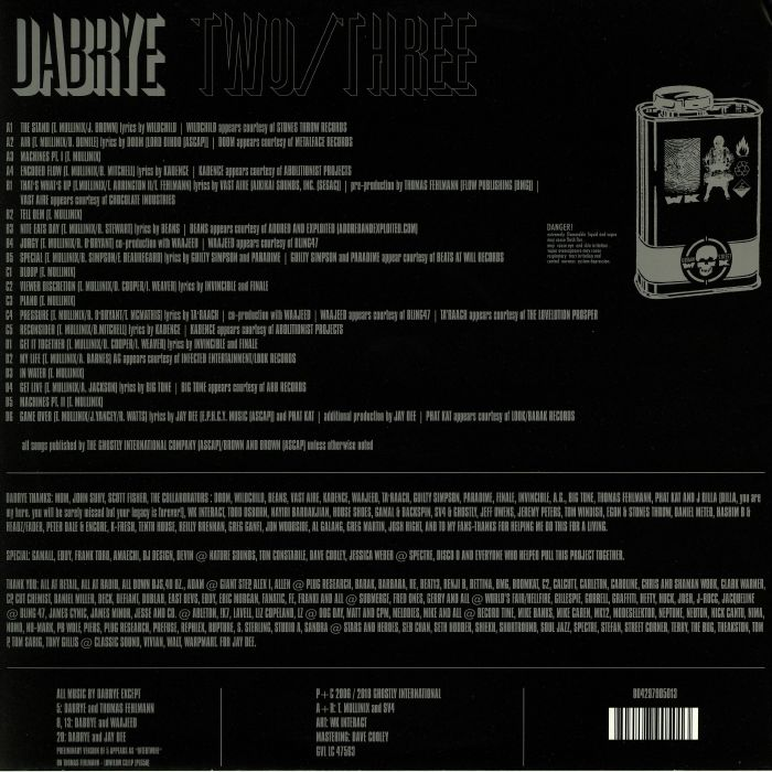 DABRYE - Two/Three (reissue)