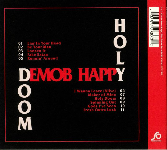 DEMOB HAPPY - Holy Doom