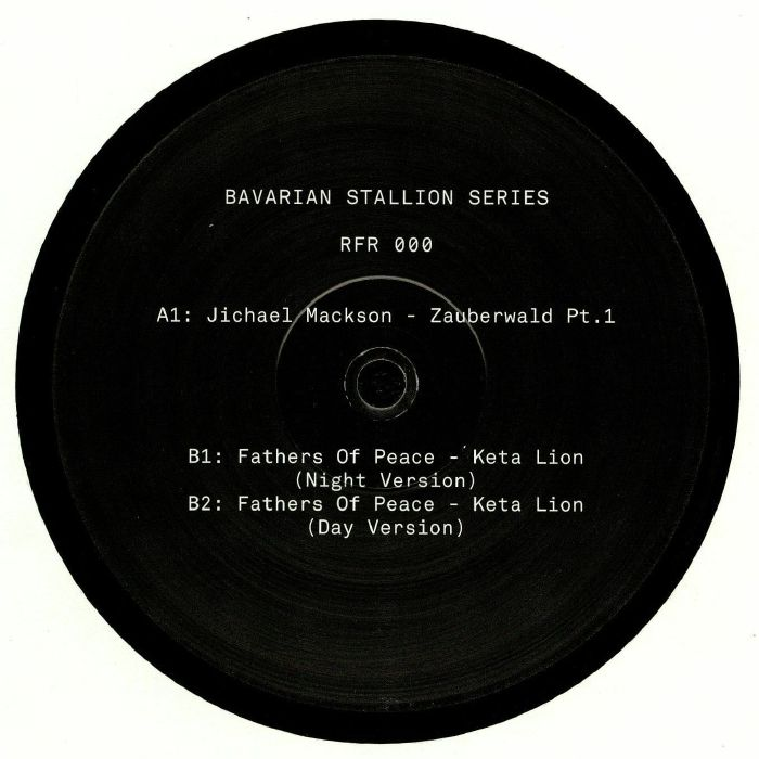 JICHAEL MACKSON/FATHER OF PEACE - Bavarian Stallion Series