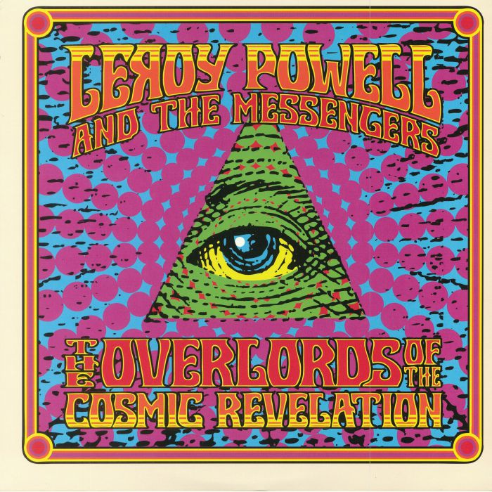 POWELL, Leroy & THE MESSENGERS - The Overlords Of The Cosmic Revelation (reissue)