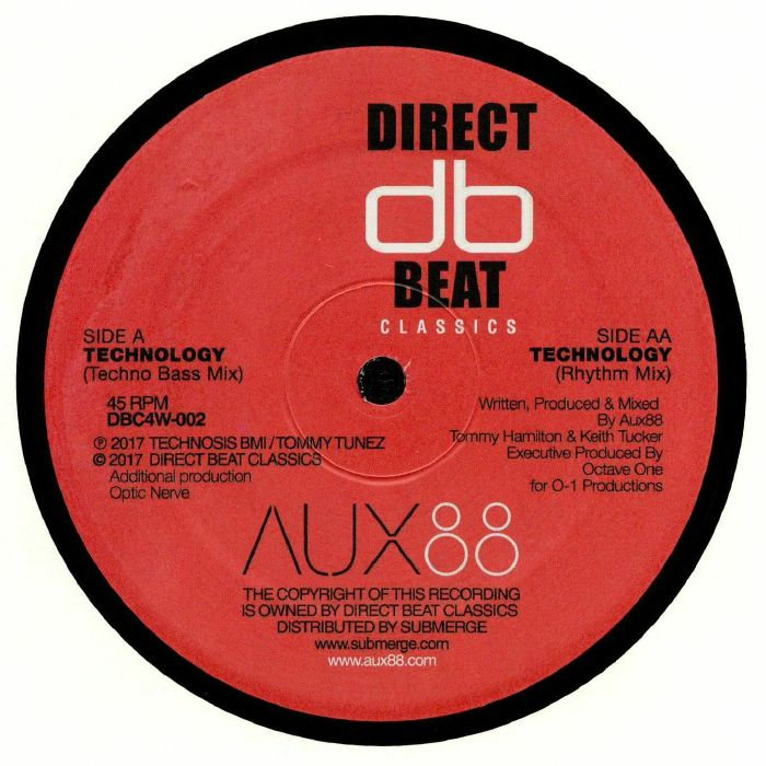 AUX 88 - Technology  (reissue)