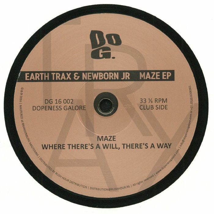 EARTH TRAX/NEWBORN JR - Maze EP