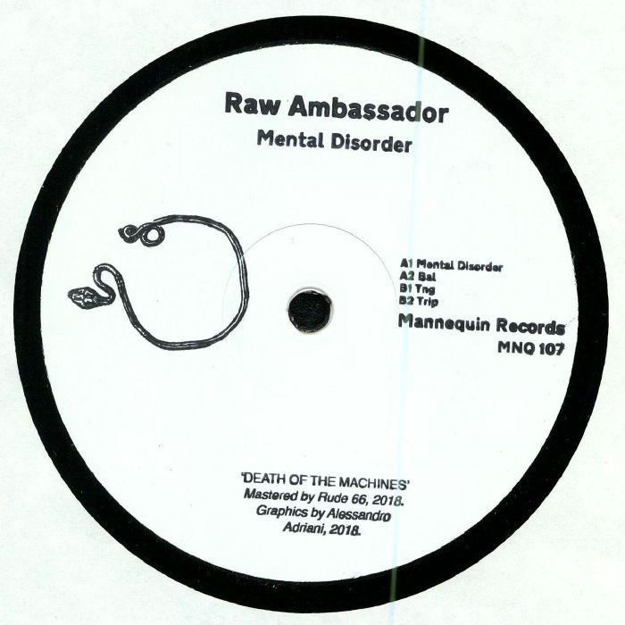 RAW AMBASSADOR - Mental Disorder