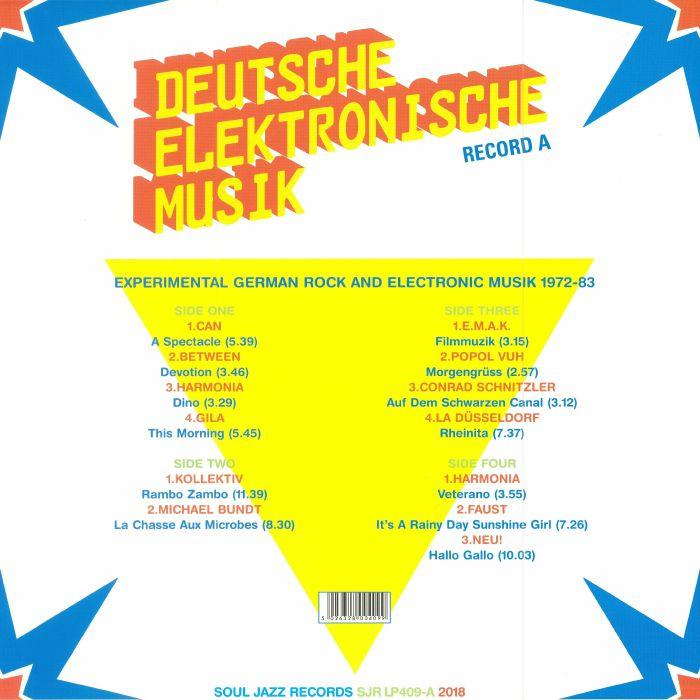 VARIOUS - Deutsche Elektronische Musik 4 Record A: Experimental German Rock & Electronic Music 1972-83