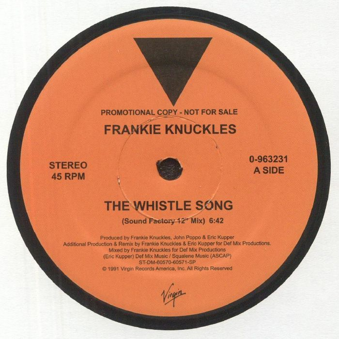KNUCKLES, Frankie - The Whistle Song