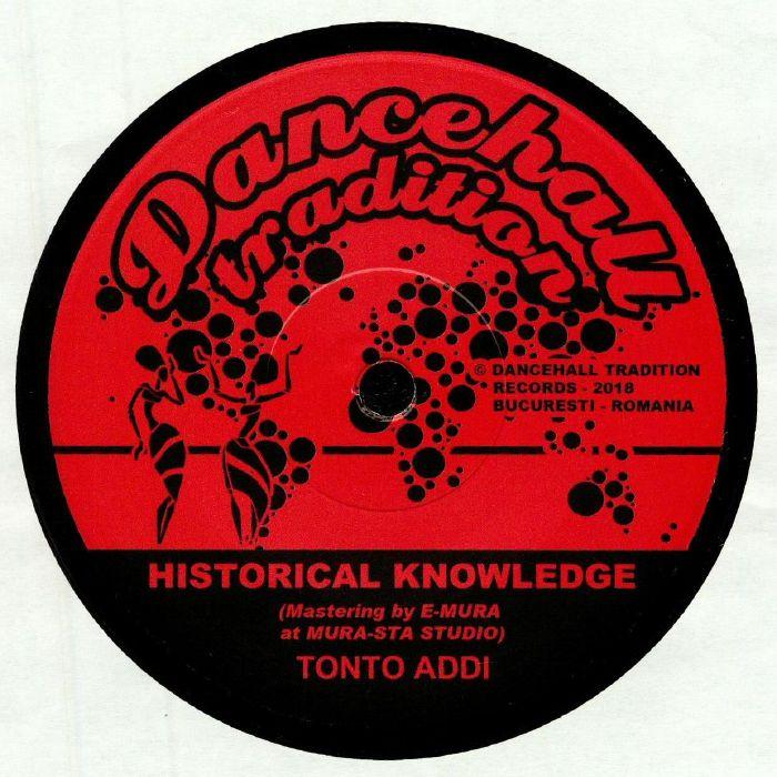 TONTO ADDI/INJEKTAH - Historical Knowledge
