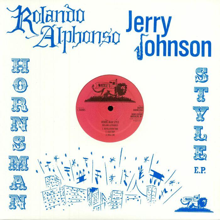 ALPHONSO, Roland/JERRY JOHNSON - Horns Man Style EP
