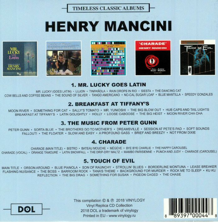MANCINI, Henry - Timeless Classic Albums