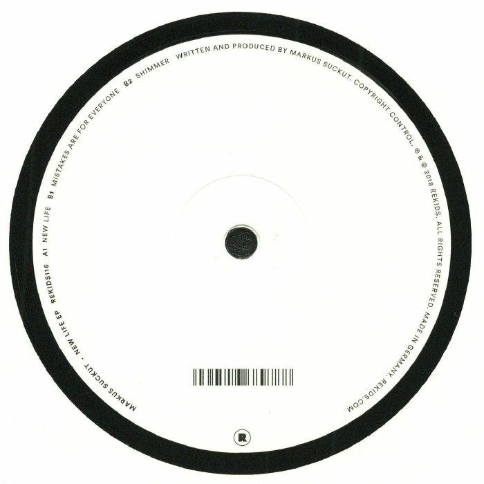 SUCKUT, Markus - New Life EP