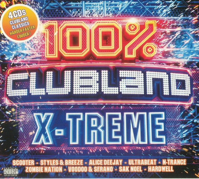 VARIOUS - 100% Clubland X Treme