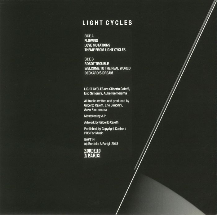 LIGHT CYCLES - Flowing EP