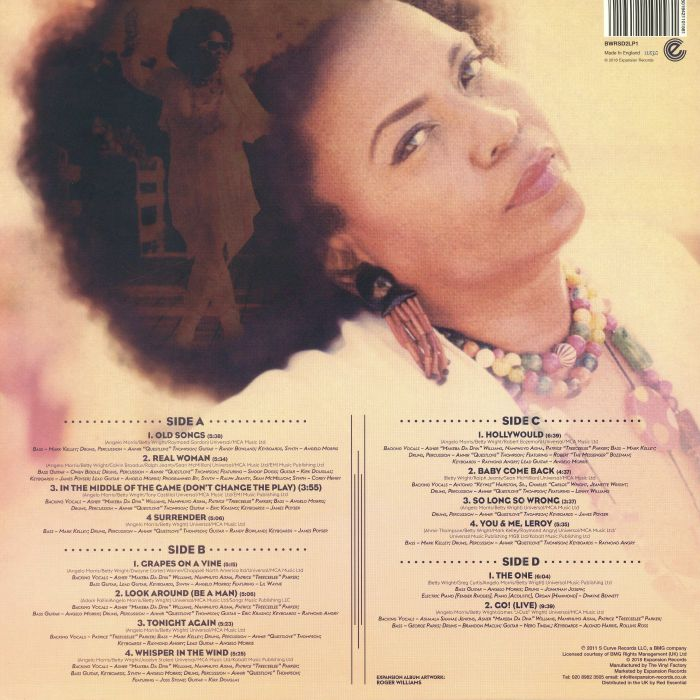 WRIGHT, Betty/THE ROOTS - Betty Wright: The Movie (reissue) (Record Store Day 2018)