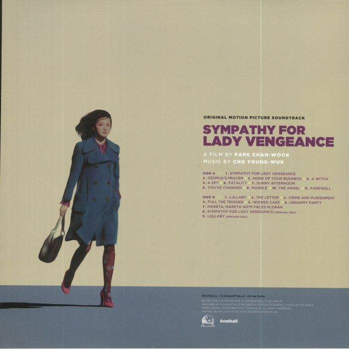 YEONG WOOK, Jo - Sympathy For Lady Vengeance: Vengeance Trilogy Part 3 (Soundtrack) (Record Store Day 2018)