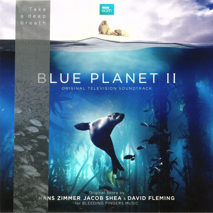 Hans ZIMMERJACOB SHEADAVID FLEMING Blue Planet II Soundtrack - Klebe vinyl obi