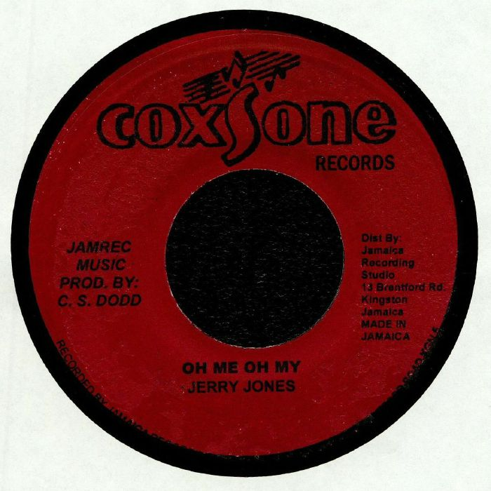 JONES, Jerry/JACKIE MITTOO - Oh Me Oh My