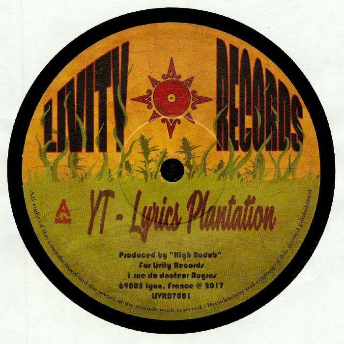 YT/HIGH BUDUB SOUND - Lyrics Plantation