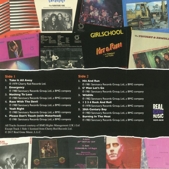 GIRLSCHOOL - The Singles 1979-1984