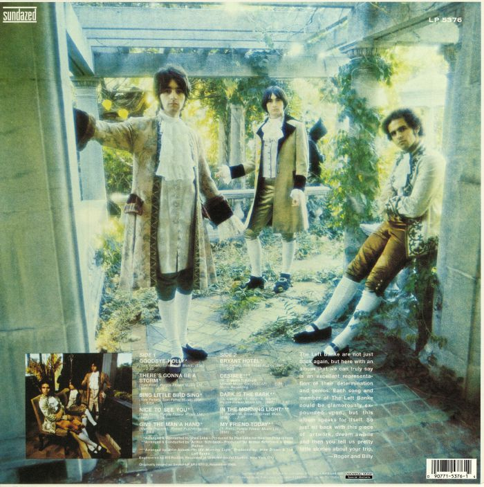 LEFT BANKE, The - The Left Banke Too (reissue)