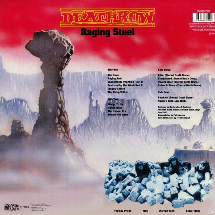 DEATHROW - Raging Steel (reissue)