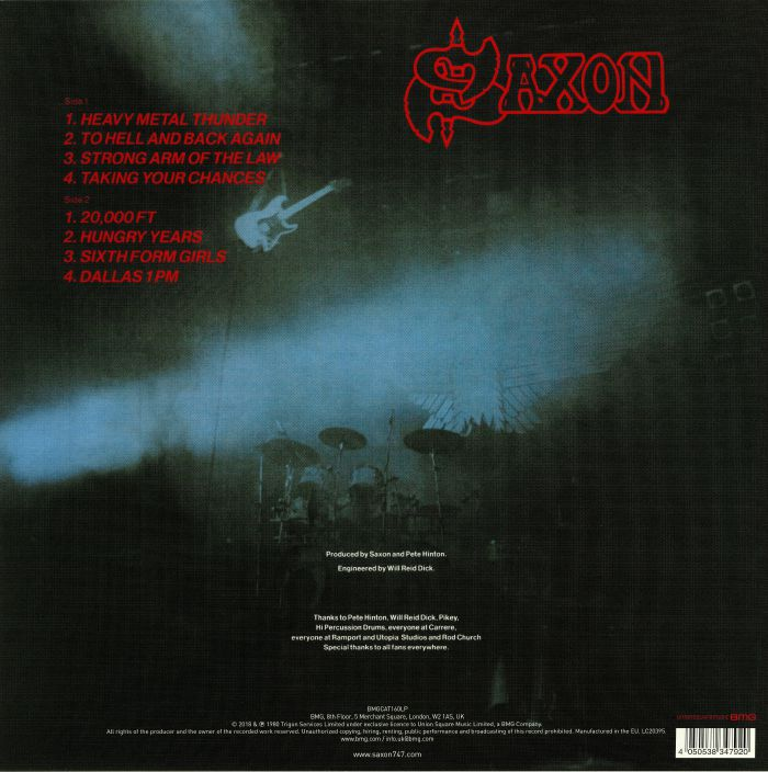 SAXON - Strong Arm Of The Law (reissue)