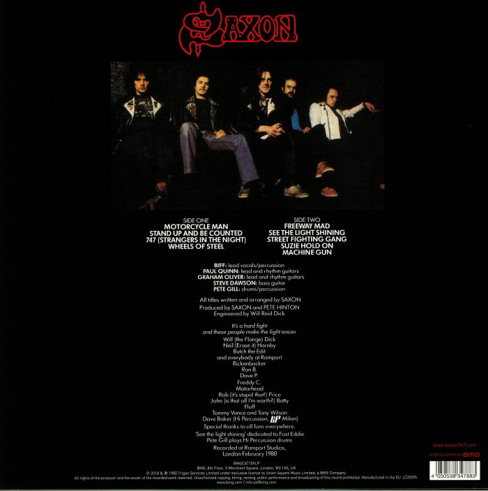 SAXON - Wheels Of Steel (reissue)