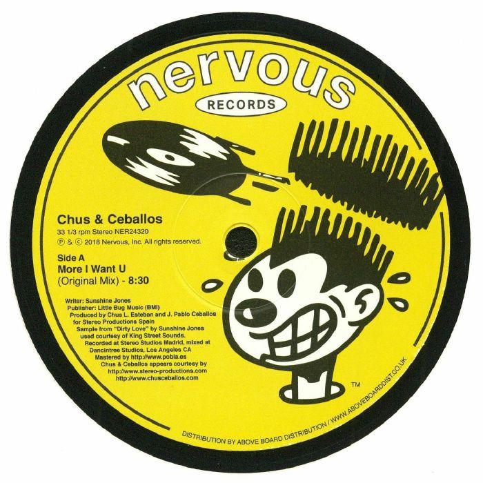 CHUS & CEBALLOS - More I Want U