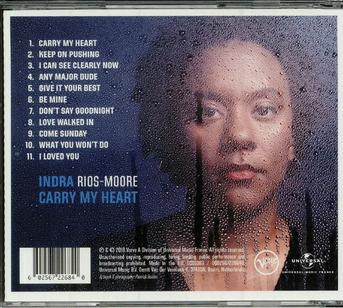 RIOS MOORE, Indra - Carry My Heart