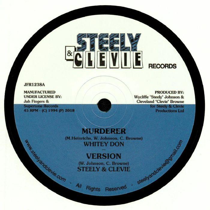 WHITEY DON/STEELY & CLEVIE/DERRICK IRIE - Murderer