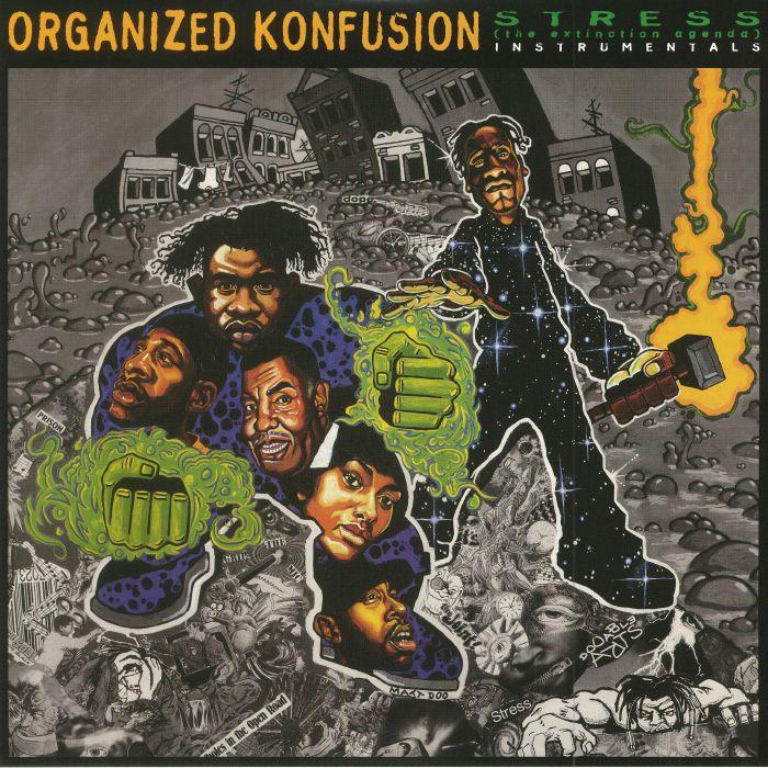 ORGANIZED KONFUSION - Stress: The Extinction Agenda: Instrumentals (reissue)